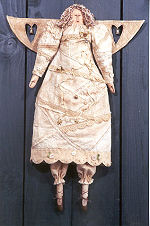 Collectible Cloth Doll - When an Angel