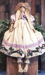 Collectible Cloth Doll - Petunia