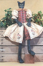 Collectible Cloth Doll - Kitty