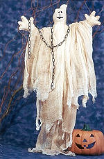 Collectible Cloth Doll -  Ghost
