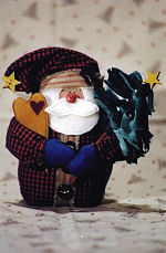 Collectible Cloth Doll - Lil Nick - Santa
