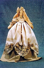 Collectible Cloth Doll - Joanna - Bunny