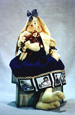Collectible Cloth Doll - Gina - Bunny