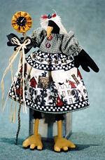 Sunshine Crow Cloth Doll
