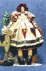 Collectible Cloth Doll -  Annie Raggedy