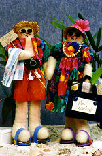 Collectible Cloth Doll - Snowbirds