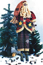 Collectible Cloth Doll - Pere Noel - Santa
