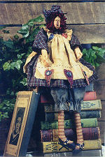 Collectible Cloth Doll - Anna