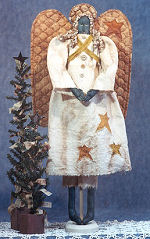 Collectible Cloth Doll - Angela