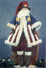 Collectible Cloth Doll - Uncle Santa