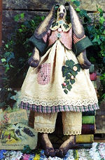 Collectible Cloth Doll - Ivy