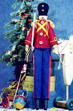 Collectible Cloth Doll - Toy Soldier
