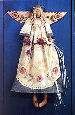 Collectible Cloth Doll - Garden Angel
