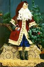 Collectible Cloth Doll - Sinterklaas - Santa