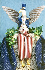 Collectible Cloth Doll - Sam - Eagle