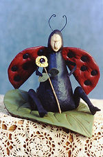 Collectible Cloth Doll - Lady Bug