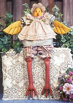 Collectible Cloth Doll - Little Chick-a-dee